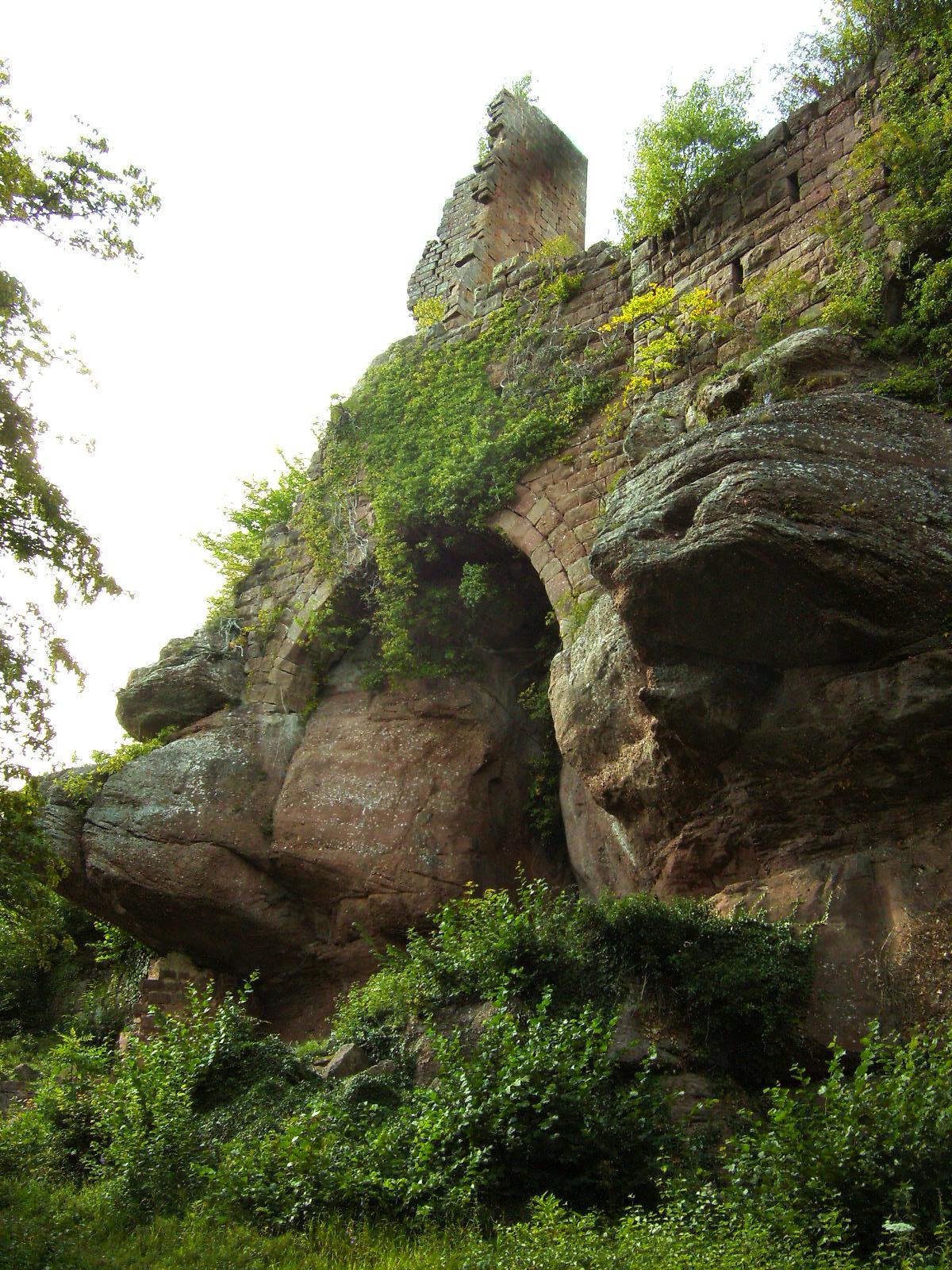 kasteel in de Elzas